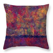 0799 Abstract Thought Throw Pillow by Chowdary V Arikatla