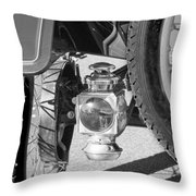 1911 Ford Model T Torpedo 4 cylinder 25 HP Taillight Throw Pillow by Jill Reger