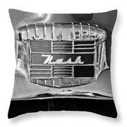1951 Nash Emblem Throw Pillow by Jill Reger