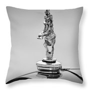 2012 Santarsiero Atlantis Concept Hood Ornament Throw Pillow by Jill Reger