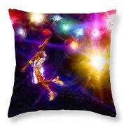A Star Is Born Throw Pillow by Alan Greene