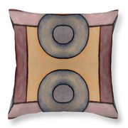 Abstract 223 Throw Pillow by Patrick J Murphy