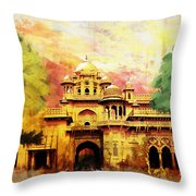 Aitchison College Throw Pillow by Catf