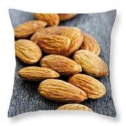 Almonds Throw Pillow by Elena Elisseeva