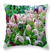 Amaranth Throw Pillow by Will Borden