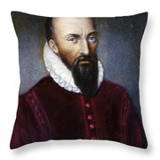 AMBROISE PARE (1517?-1590) Throw Pillow by Granger