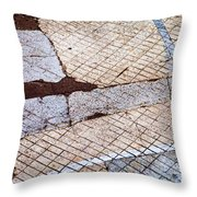 Art In The Street 1 Throw Pillow by Carol Leigh