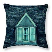 Attic Window Throw Pillow by Jill Battaglia
