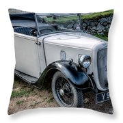 Austin 7 Throw Pillow by Adrian Evans