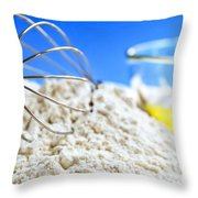 Baking Throw Pillow by Elena Elisseeva