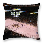 Boston Bruins Throw Pillow by Juergen Roth