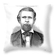 Buffalo Lithia Water, 1890 Throw Pillow by Granger