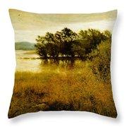 Chill October Throw Pillow by John Everett Millais