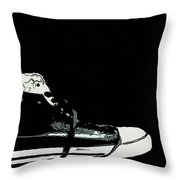 Converse Sports Shoes Throw Pillow by Toppart Sweden