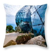 Dali Museum Saint Petersburg Florida Throw Pillow by Amy Cicconi