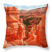 Down Into Bryce Throw Pillow by Jeff Swan