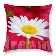 Dream Throw Pillow by Darren Fisher