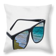 Dreaming Throw Pillow by Cheryl Young