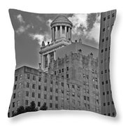 Esperson Buildings Houston Tx Throw Pillow by Christine Till