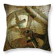 Historical navigation Throw Pillow by BERNARD JAUBERT