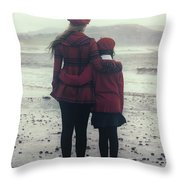 Hugging Throw Pillow by Joana Kruse