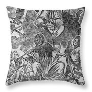 Intolerable Acts 1774 Throw Pillow by Granger