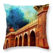 Jhangir Tomb Throw Pillow by Catf