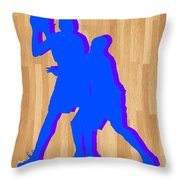 Kevin Durant Kobe Bryant Throw Pillow by Joe Hamilton