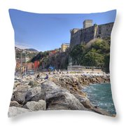 Lerici Throw Pillow by Joana Kruse