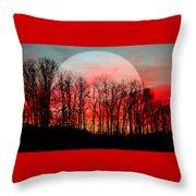 Moon Dance Throw Pillow by Karen Wiles