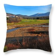 Mount Washington Throw Pillow by Catherine Reusch  Daley