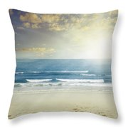 New Day Throw Pillow by Les Cunliffe