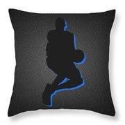 New York Knicks Throw Pillow by Joe Hamilton