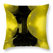 Night Light Throw Pillow by Toppart Sweden