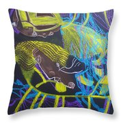 Our Lady Clothed With The Sun Throw Pillow by Gloria Ssali