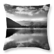Romantic lake Throw Pillow by BERNARD JAUBERT