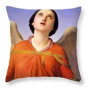 Sacred Music Throw Pillow by Luigi Mussini