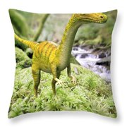 Saltopus Throw Pillow by Roger Harris