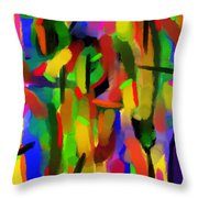 Schreien Throw Pillow by Sir Josef Social Critic - ART
