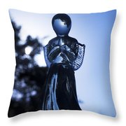 Shadows From Heaven Throw Pillow by Sharon Cummings