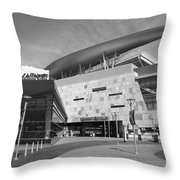 Target Field - Minnesota Twins Throw Pillow by Frank Romeo