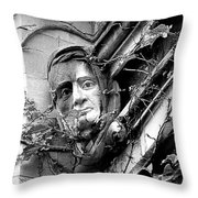 That Gargoyle University Of Chicago 2009 Throw Pillow by Joseph Duba