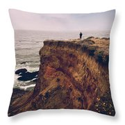 To The Ends Of The Earth Throw Pillow by Laurie Search