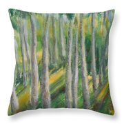 Tropical Throw Pillow by Jane  See