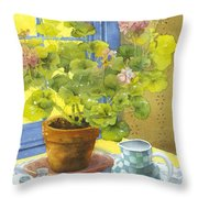 Untitled Throw Pillow by Julia Rowntree