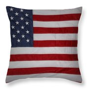 USA Throw Pillow by Les Cunliffe