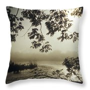 Ussuri Territory The Ussuri River Throw Pillow by Anonymous