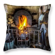 Victorian Range Throw Pillow by Adrian Evans