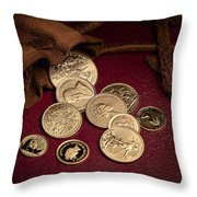 Wealth Throw Pillow by Tom Mc Nemar