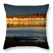 Weather Throw Pillow by Marysue Ryan